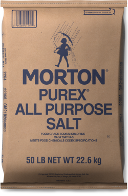 Morton<sup>&reg;</sup> <br>PUREX<sup>&reg;</sup> AND TFC PUREX<sup>&reg;</sup> SALTS