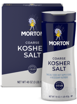 MORTON<sup>®</sup> <br>COARSE KOSHER SALT 10