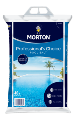 Morton<sup>®</sup> <br>Professional's Choice<sup>®</sup> Pool Salt