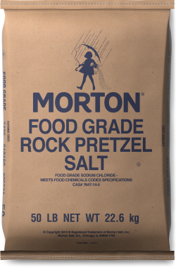 Morton<sup>®</sup> <br>ROCK PRETZEL SALT