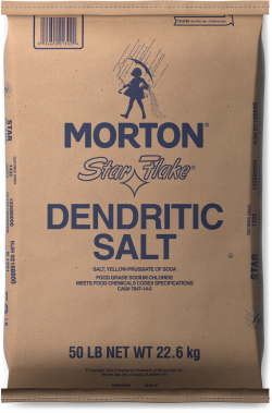 Morton<sup>&reg;</sup> <br>STAR FLAKE<sup>&reg;</sup> DENDRITIC SALT