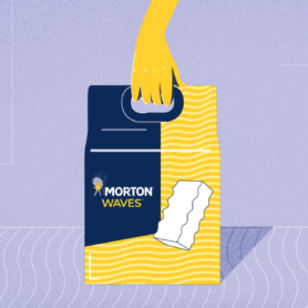 Morton<sup>®</sup> WAVES<sup>®</sup> Clean and Protect<sup>®</sup> Water Softener Bars